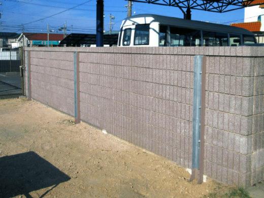 FITパワー施工例ブロック塀補強耐震化