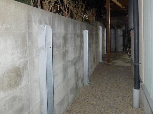 ブロック塀の耐震補強金具FITパワー