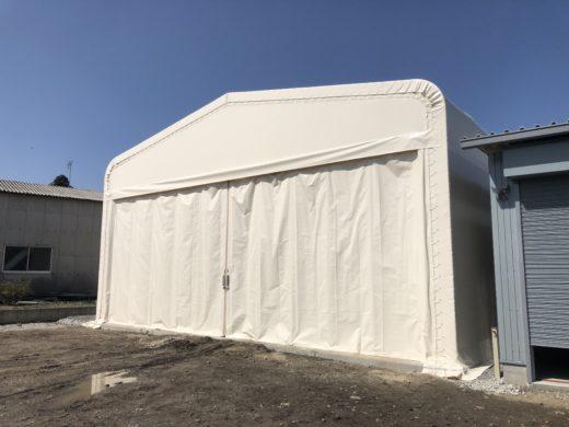 大規模災害時に活躍するテント